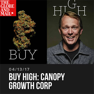 Buy High: Canopy Growth Corp
