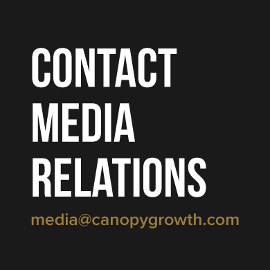 Canopy Growth Corporation Media Relations