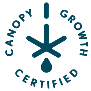 Canopy Growth Certified logo