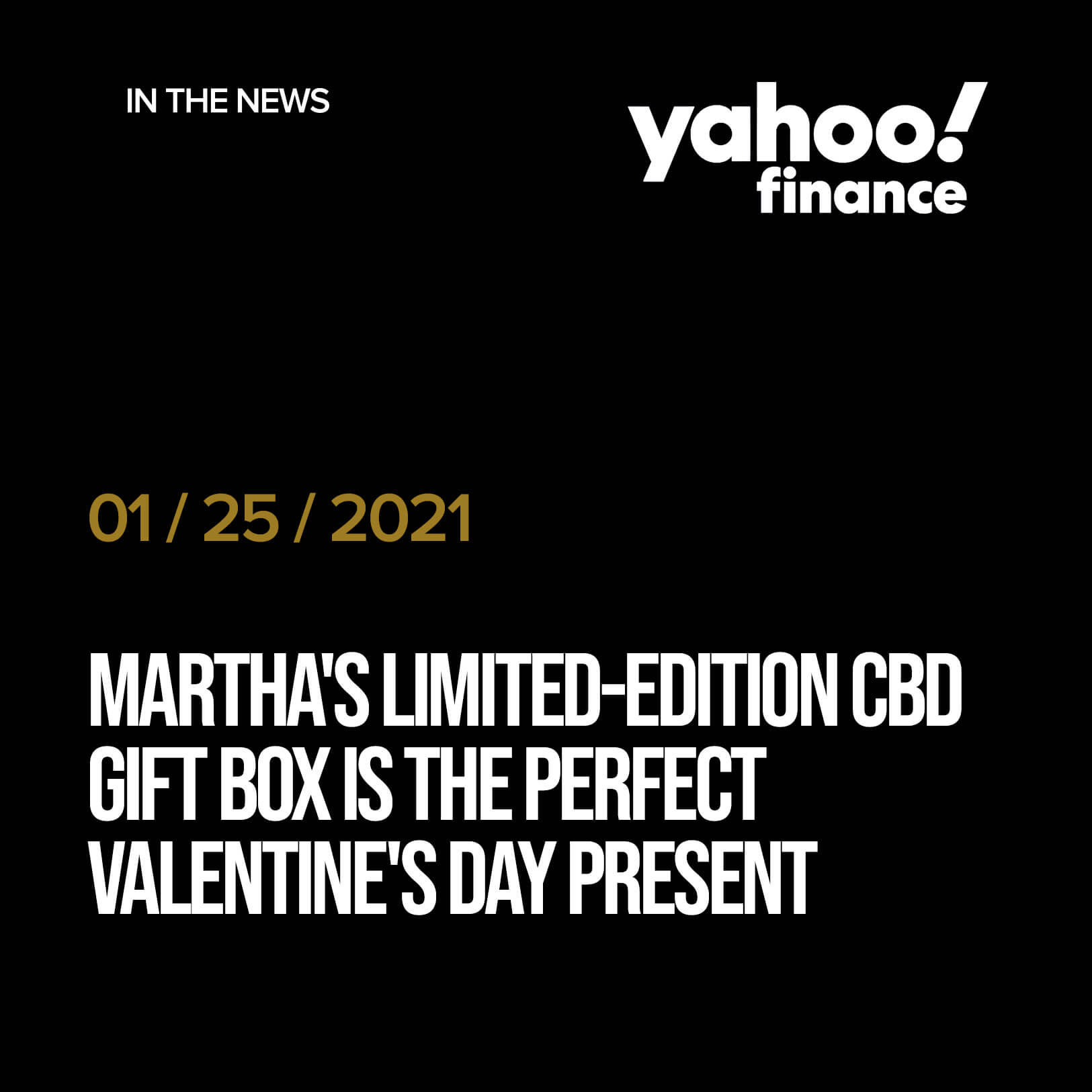 Martha's Limited-Edition CBD Gift Box Is the Perfect Valentine's Day Present